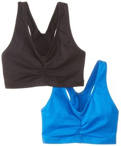 407e61e9d530d Hanes Women s Full Coverage at Amazon Women s Clothing store  Sports Bras  Crop Top Bra
