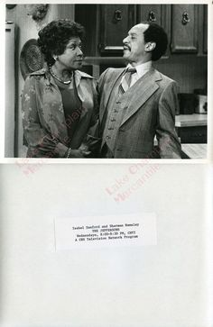 THE JEFFERSONS Press Photo #25 Sherman Hemsley ISABEL SANFORD all in the family