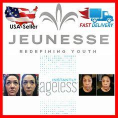 5 Sachets Instantly Ageless Anti Wrinkle Botox Alternative Jeunesse SEE VIDEO #Jeunesse