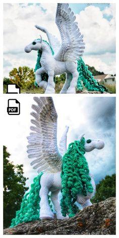 Free Crochet Doily Patterns, Crochet Animal Patterns, Crochet Animals, Crochet Stitches, Cute Crochet, Crochet Toys, Crochet Unicorn, Doll Amigurumi Free Pattern, Crochet Disney