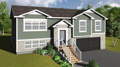 Churchill 3 bedroom 3 1 2 bath home plan features open for Split foyer modular homes