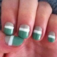 3 color nail design
