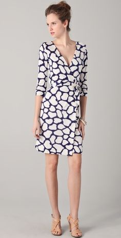 DVF Julian Wrap Dress