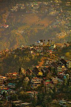 Get lost in the hills of Darjeeling, India.