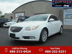 2011 Buick Regal CXL White $13,995 72633 miles 484-313-4424 Transmission: Automatic  #Buick #Regal #used #cars #CourtesyChryslerJeep #Coatesville #PA #tapcars
