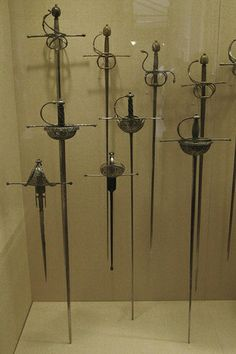 Rapiers and parrying daggers | Flickr - Photo Sharing!