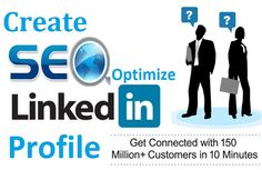Are you looking for real and verified LinkedIn Accounts to grow your professional network? Then you are at Right gig on Fiverr I will create full seo optimize linkedin account for JUST $5 http://www.fiverr.com/s/4ww6jr