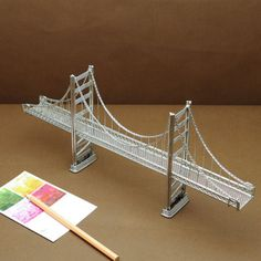 how to make a suspension bridge with popsicle sticks