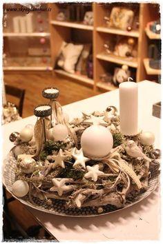 Unconventional advent wreath...