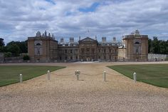Woburn Abbey -  Bedfordshire, England - Famous for it's beautilful gardens – it's also home to a safari park. Woburn Abbey, comprising Woburn Park and its buildings, was originally founded as a Cistercian abbey in 1145