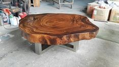 Live Edge Table, Live Edge Wood, Slab Table, Wood Tables, Dining Tables, Into The Woods, Wood Tree, Wood Slab, Round Coffee Table