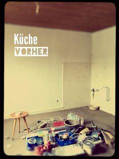 """Studentenfilm """"Alter Egon"""" Küche vorher"""