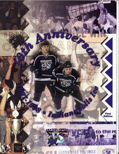 10 Year Anniversary edition of Ice Illustrated from the 1997-98 Season.