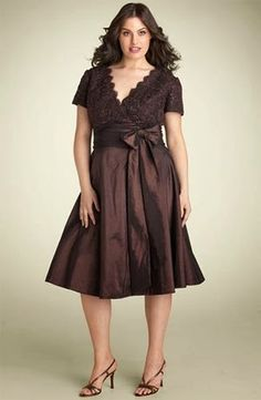 Increibles Vestidos de fiesta para jóvenes gorditas   Moda y Tendencia 2014