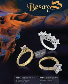 #swarovski rings @besaygold .. #ring#rings#kuyumcu#yuzuk#yüzük#yüzükler#swarovskicrystals#eternityring#evlilik#evlilikteklifi#evlilikyüzüğü#pirlanta#pırlanta#mücevher#kuyumcu#anello#anelli#anel#goldring#14k#yellowgold#14ayar#pr#magazines#jewellerymagazine#grandbazaar#oro#joyas