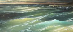 stormy ocean paintings - Google Search