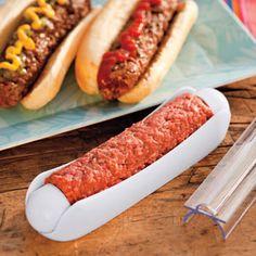 Ham Dogger - Makes Perfect Hot Dog Shaped Hamburger Patties