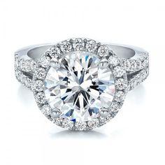 4.5 5 6 7 8 Size 2ct Diamond Engagement Halo Round Band Ring Wedding Proposal New Certified Nscd Sona Pt950 Platnium $199