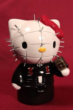 hello kitty pinhead by kezeff on DeviantArt Hello Kitty Gun, Hello Kitty Cake, Hello Kitty Items, Kitty Kitty, Space Ghost, Hello Kitty Characters, Sanrio Characters, Cricket Theme Cake, Hello Kitty Clipart