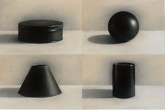 Gale Antokal. Four Black Objects.