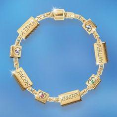 48 Best Birthstone Bracelets For Moms Images Birthstones