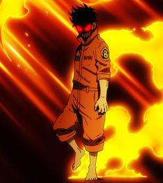 Otaku Anime, Anime Art, Shinra Kusakabe, Mega Anime, Fire Demon, Wallpaper Naruto Shippuden, Handsome Anime Guys, Estilo Anime, Slayer Anime