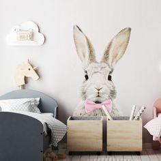 Deco Originale, Stickers, Toy Chest, Storage Chest, Kids Fashion, Rabbit, Baby, Furniture, Cottage Farmhouse