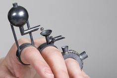 Bezalel Academy of Art and Design - E-EXHIBITION - jewlery - ring(s) by ????