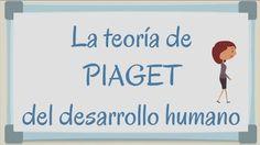 La teoría de Piaget en vídeo.