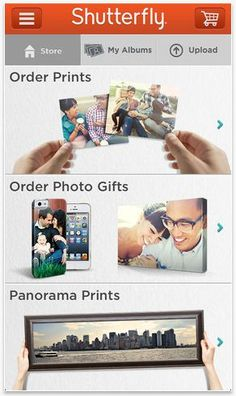 Shutterfly app -- One of the best photo storage + management apps we've found!