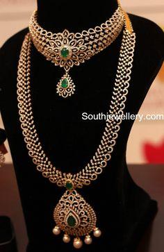 Diamond Choker and Long Chain Set photo