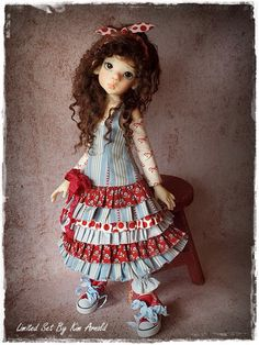 Limited Edition MSD BJD Set by Kim Arnold for The Trinket Box