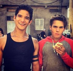 tyler posey and dylan sprayberry. ❤️❤️❤️