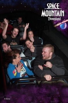 20 Best Staged Space Mountain Ride Photos