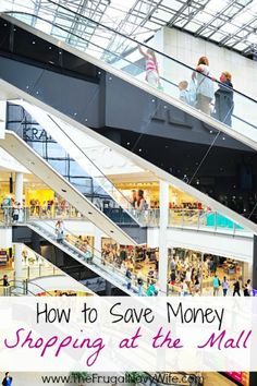 How to Save Money Shopping at the Mall - Did you know your can save money BY shopping at the mall and not just by avoiding it?
