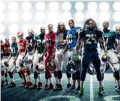 2012 Nike NFL Super Hero shot Photo: Marcus Swanson