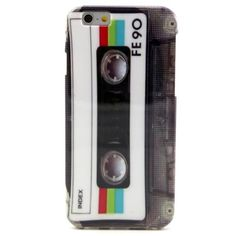 Coque iPhone 6 Cassette Rétro Glossy