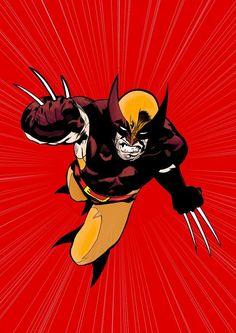 Wolverine by Ryan Sook, colours by Jason Conrad *