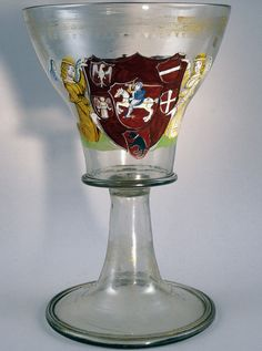A goblet belonging to Alexander Jagiellon, probably ordered for the Grand Dukes' Palace in Vilnius, with the heraldic symbols of the Grand Duchy of Lithuania, Venice, circa 1500.