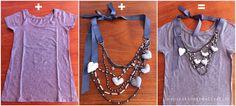 inspiration and realisation: DIY fashion blog: hearts & beads