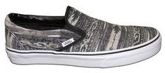 Vans® Classic Slip-On Van Doren Black Stripe