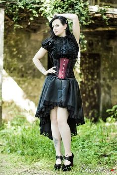 Helena Corset and Vampiria Jacket - Dragonfly
