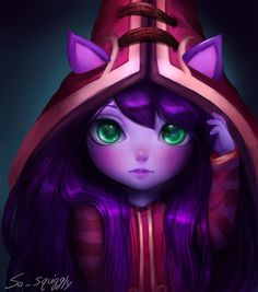 League of Legends Lulu by MysteriousPancake
