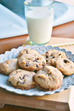Vegan Chocolate Chip Cookies | The Sweet Life