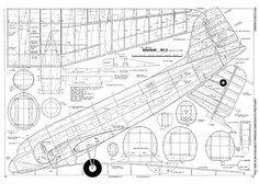 Douglas by Tony Lombardo from Flying Models 1977 - plan thumbnail Paper Airplane Models, Airplane Car, Model Airplanes, 3d Models, Paper Models, Aero Modelo, Rc Plane Plans, Radio Controlled Aircraft, Drones
