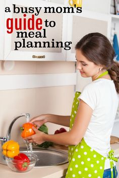 A Busy Mom's Guide to Meal Planning: http://writtenreality.com/busy-moms-guide-meal-planning/