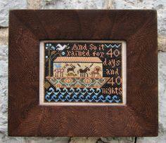 Noah's Ark Sampler Pattern by kathybarrick on Etsy