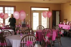 tulle tied around chairs