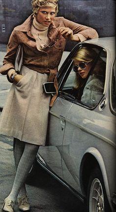 Anne Klein Skirt 1972