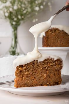 Greek Cooking, Carrot Cake, Cake Cookies, Mashed Potatoes, Carrots, Muffins, Pudding, Sweets, Baking
